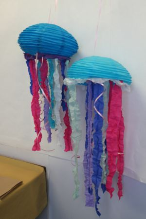 Paper Lantern Jellyfish Beauteous Jellyfish Paper Lanterns #diy Httpwwwpartycheapcategory_S Inspiration