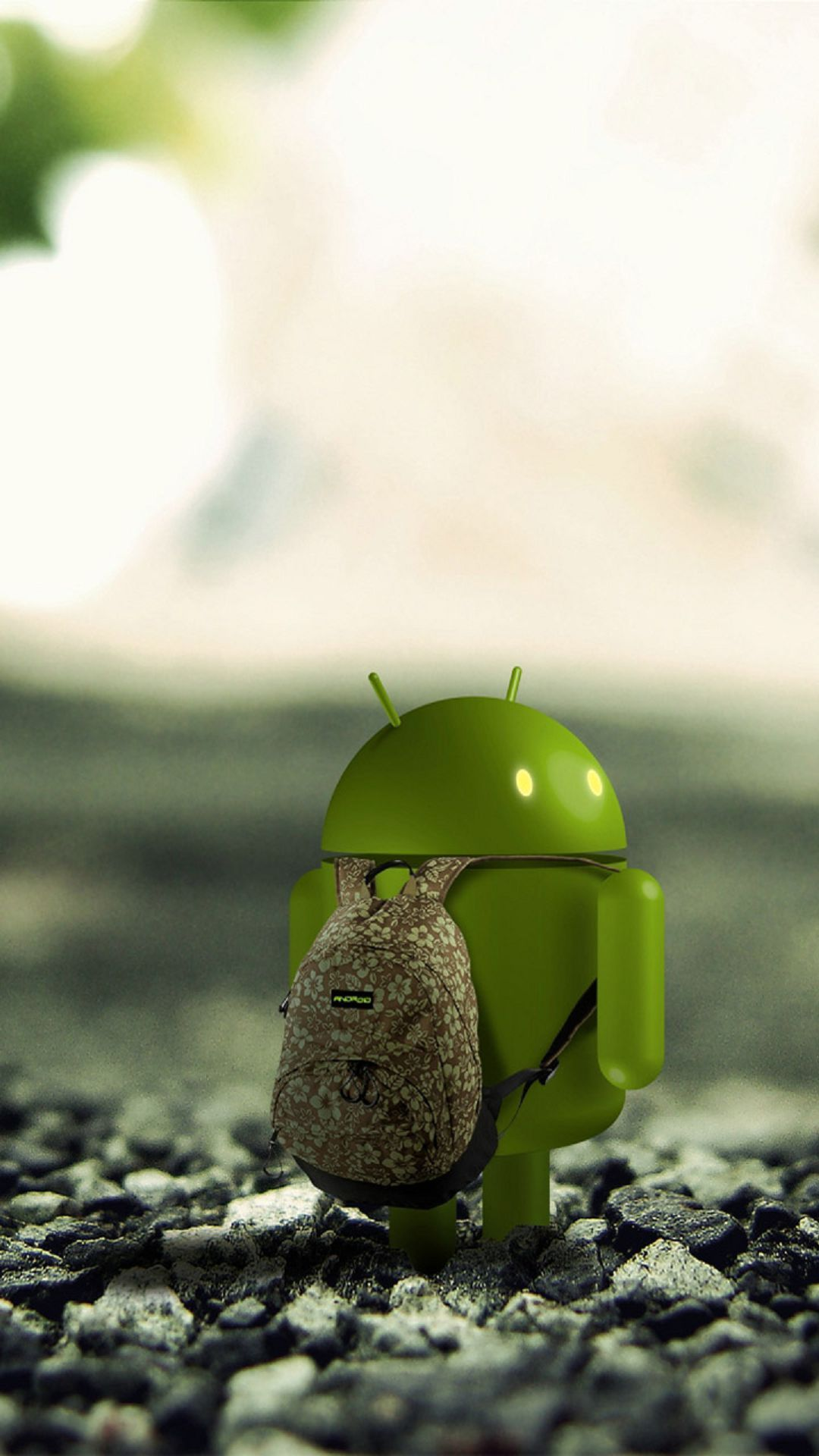 Android Robot Backpack Android Wallpaper Collections Robot Wallpaper Mobile Wallpaper Android Samsung Galaxy Wallpaper