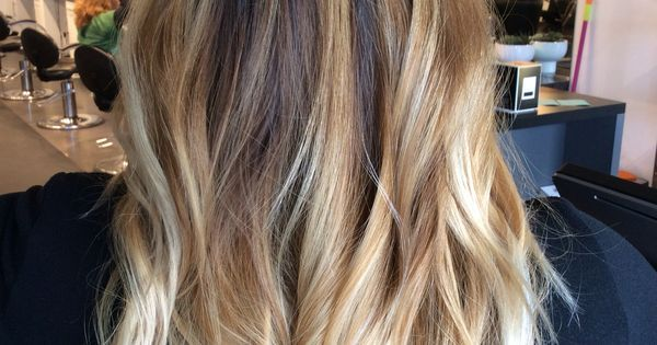 Image result for brown root blonde balayage
