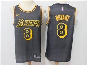 2c0cd74df Los Angeles Lakers  8 Kobe Bryant Black City Edition Swingman Jersey ...