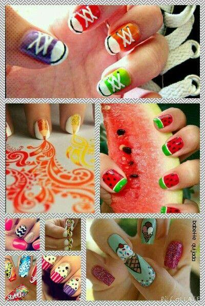 Nail art jasmijn☺️