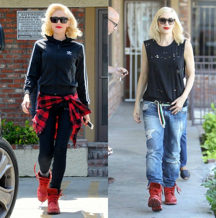 Style Timberland Boots: 20 outfits & styling tips #boots