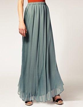 New Womens Elastic Waist Band Pleated Chiffon Long Maxi Skirt Underskirt*Lng