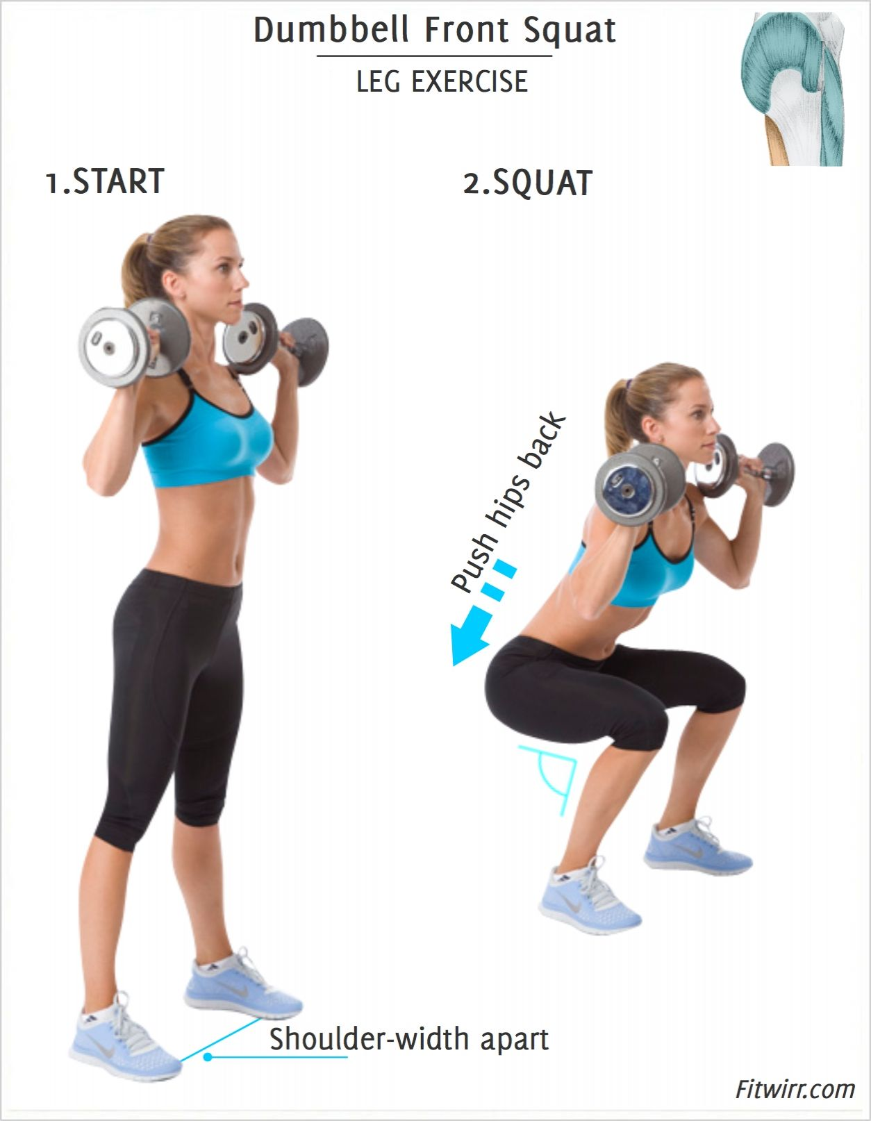"""Image result for squat with dumbbells"""""""