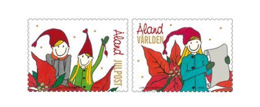 Aland Christmas Stamps 2009