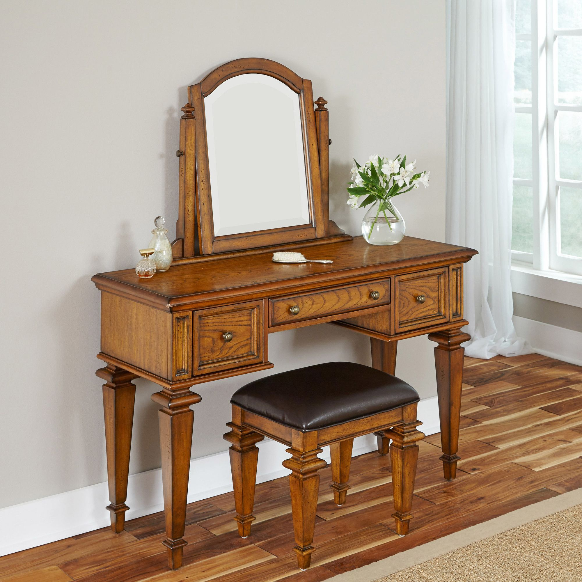 Americana vanity set with mirror dressing table pinterest