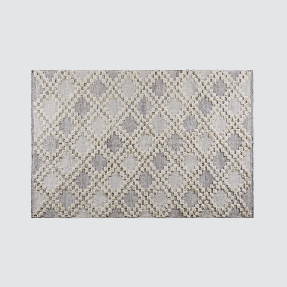 Akshay Area Rug Grey Area Rug With Textured Pattern At The Citizenry Rugs Area Rugs The Citizenry
