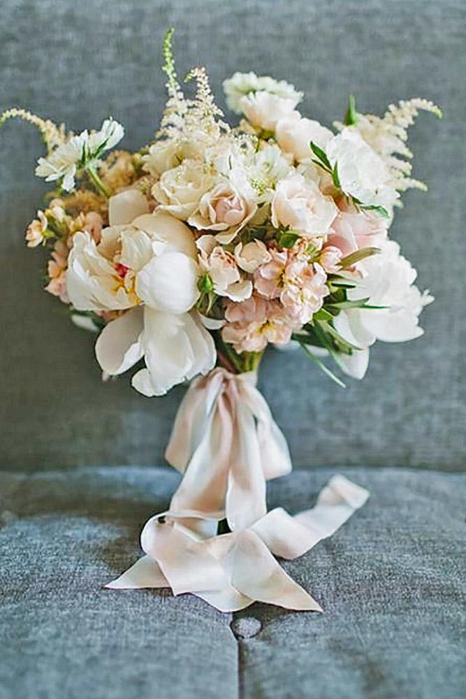 51 Glamorous Blush Wedding Bouquets That Inspire