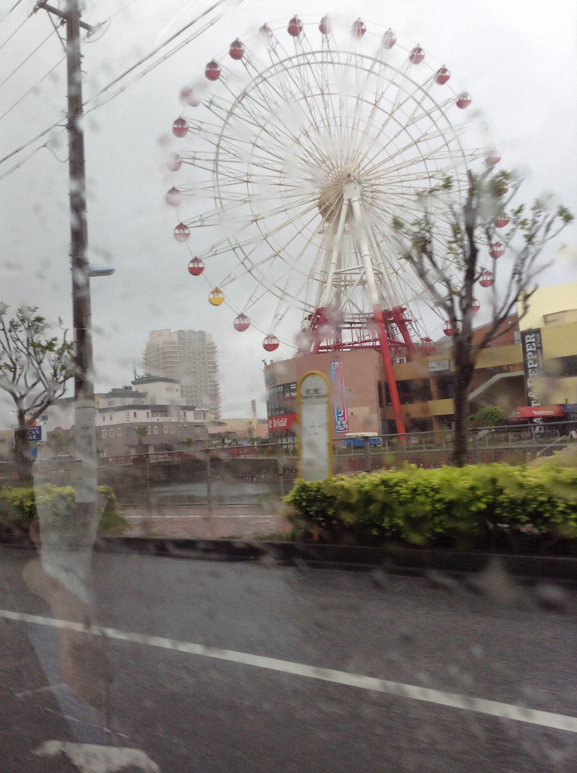 Daytime Ferris wheel- American village