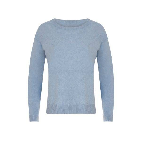 Coster Copenhagen Knit Top Cashmere Blue