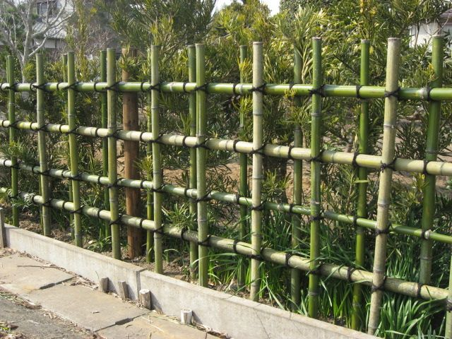 Japanese Fencing With Bamboo Google Search Garden