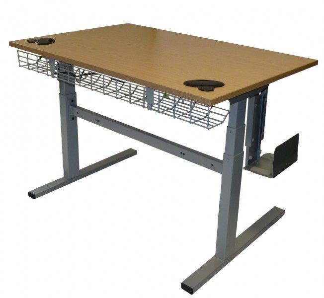Next Stop Pinterest Adjustable Height Desk Adjustable Desk