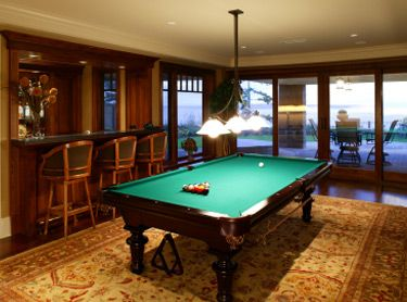 Pool Table Room Ideas | The Typical Design Of A Billiards Room Includes A  Bar With Part 50