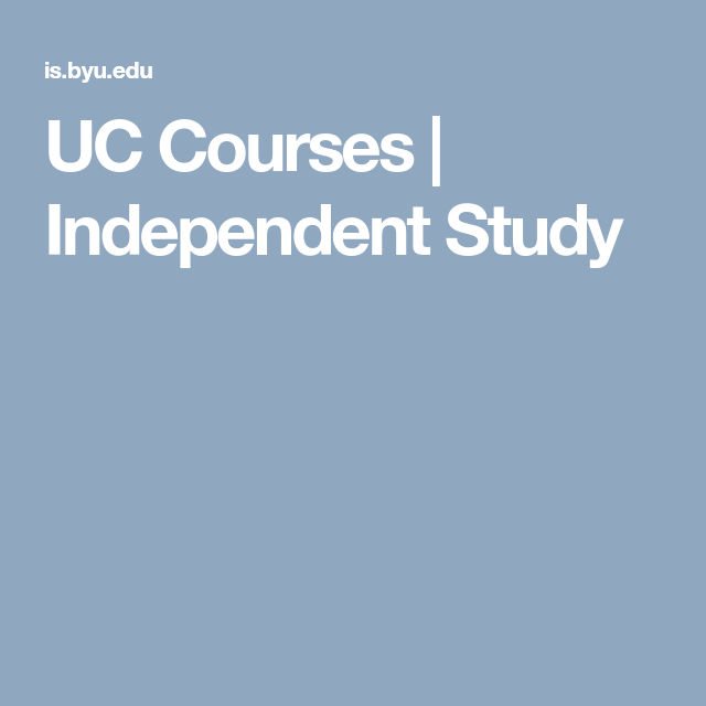 what does course of study mean for high school
