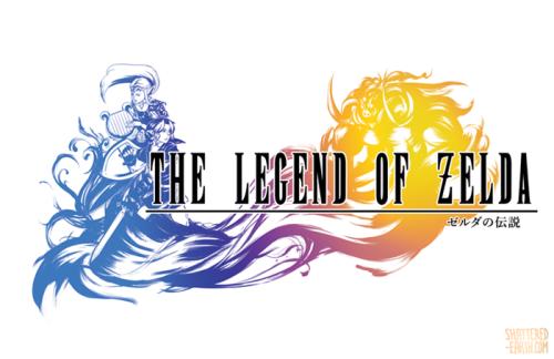 Tumblr Fan Creates Amazing Final Fantasy Logos Zelda Style Final Fantasy Logo Legend Of Zelda Final Fantasy
