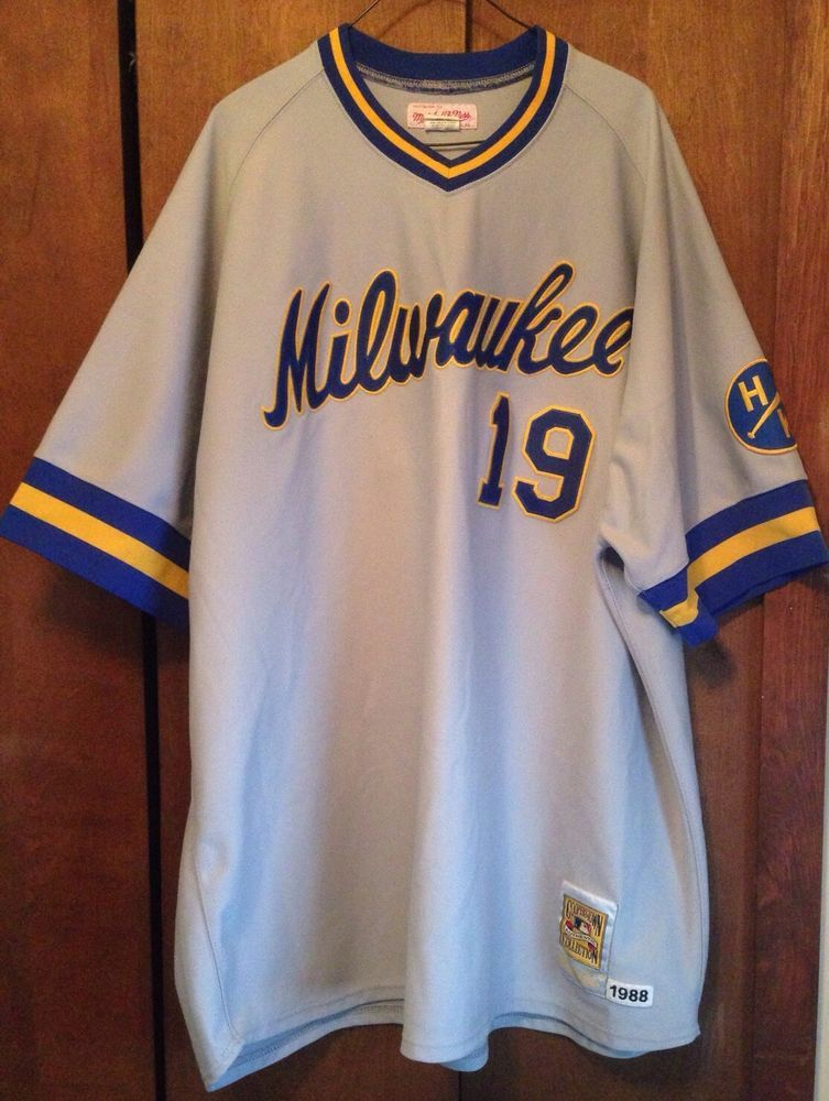 new concept 1205f a48f5 Robin Yount Milwaukee Brewers Mitchell & Ness Cooperstown ...