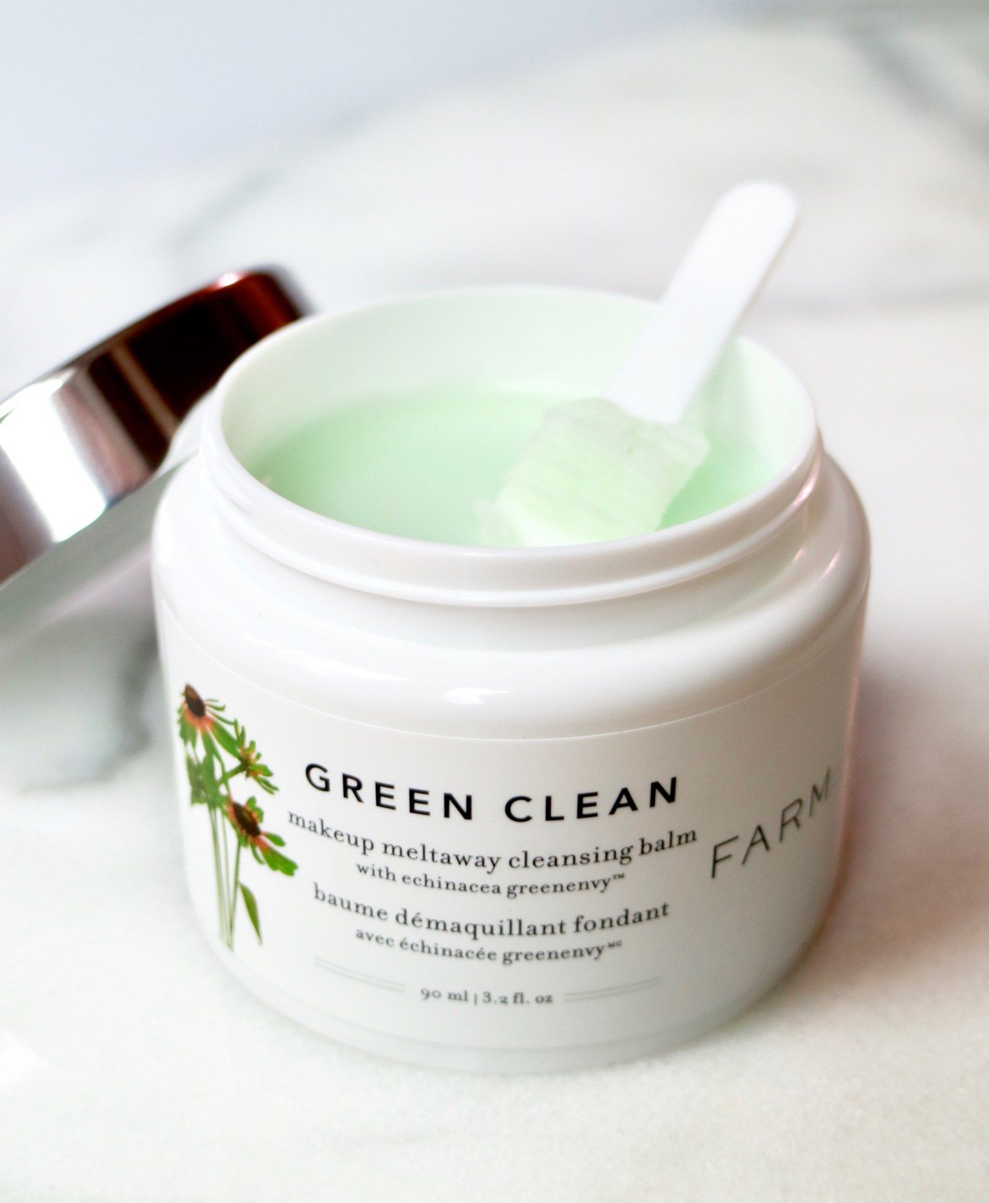 Review Farmacy's Green Clean Cleansing Balm Empire