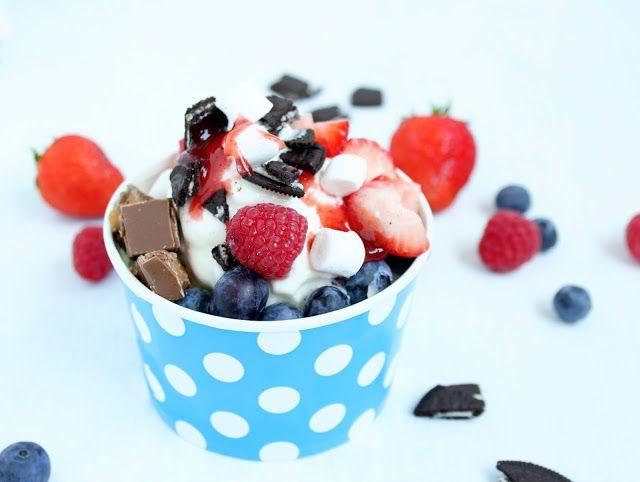 Rezepte mit Herz Frozen Yogurt ♡ Frozen Joghurt Kochen mit der