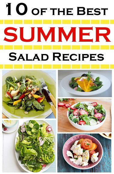 10 of the Best Summer Salad Recipes