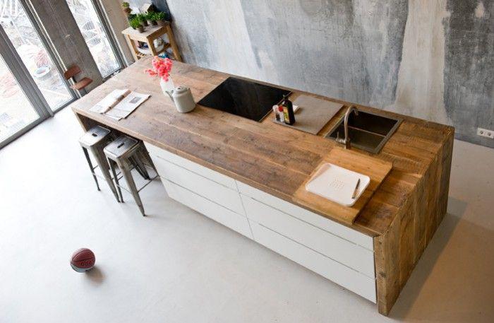 Stoere Keuken Wood : Stoere en stijlvolle keuken met warme uitstraling