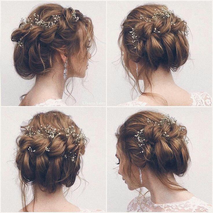 Accessoires cheveux pour coiffure mariage chignon mariée bohème romantique retro | Chignon ...