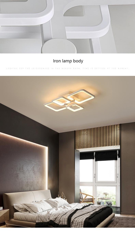 Acheter Le Lustre Moderne De Plafond De Led Allume La Lampe Pour Le Salon De Chambre Lampadario Moderno Lustre Lustre Lighting Ac85 265v De 191 15 Du Wyiyi D In 2020