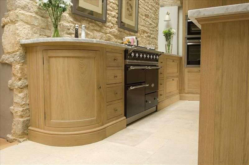 Neptune Henley Kitchen Curved Base Unit