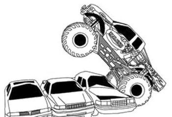 off road truck wurks coloring page off road car coloring pages