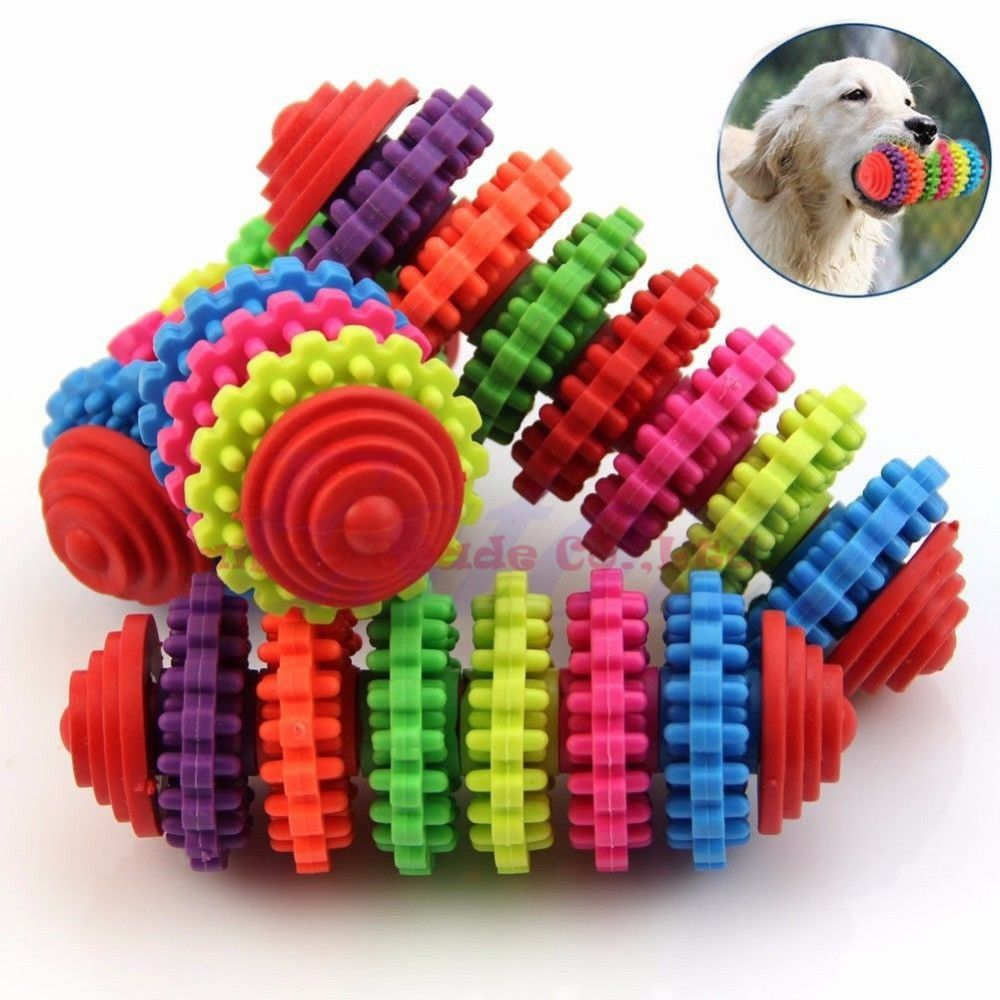 2015 new arrival Colorful Rubber Pet Dog Puppy Dental Teething ... | Healthy Chew Toys For Dogs