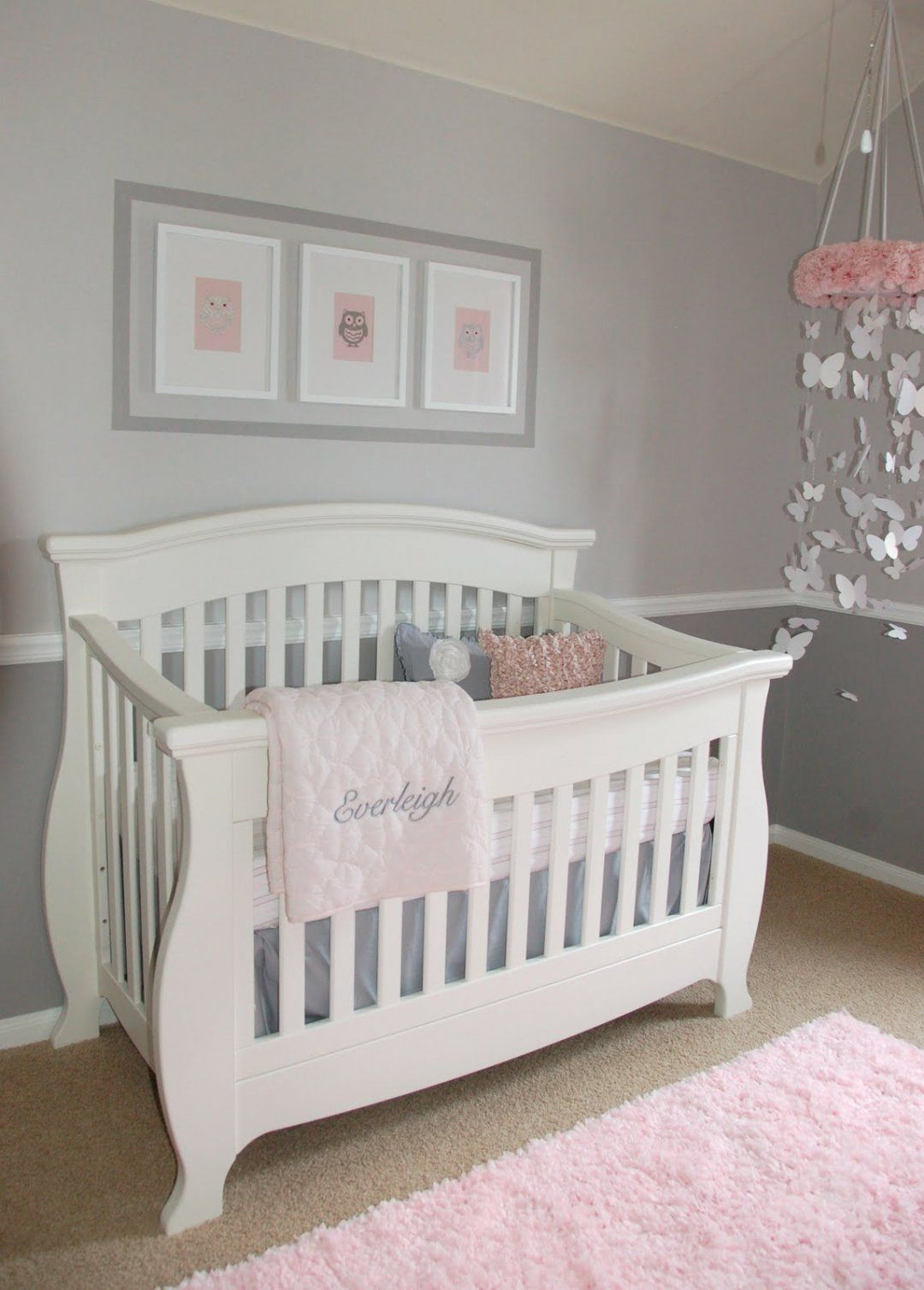 Fairest Pink Benjamin Moore Crib Bedding Sets Clearance Blush Girl