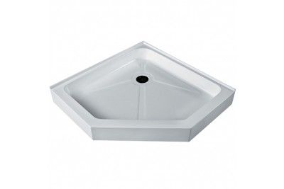 Vigo Vg06069wht38 38 Neo Angle Acrylic Shower Tray At Bluebath Com