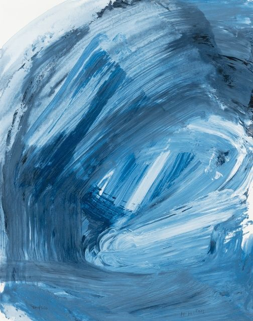 Howard Hodgkin | Ice (not in Heenk) (2013) | Available for Sale | Artsy