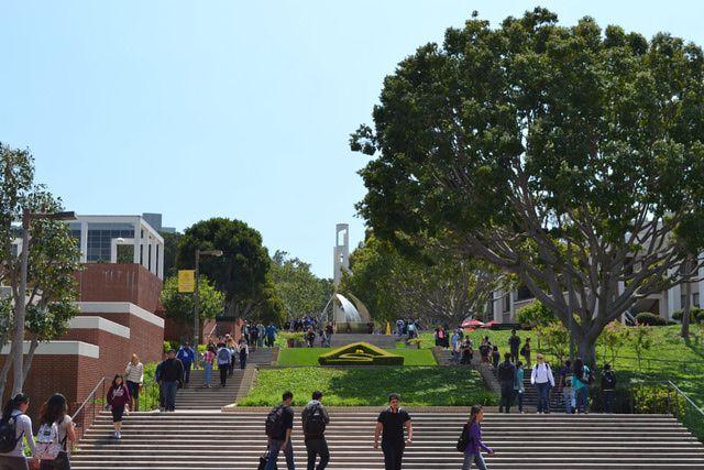Photo Tour Of Cal State Long Beach Long Beach University Long Beach California Long Beach State