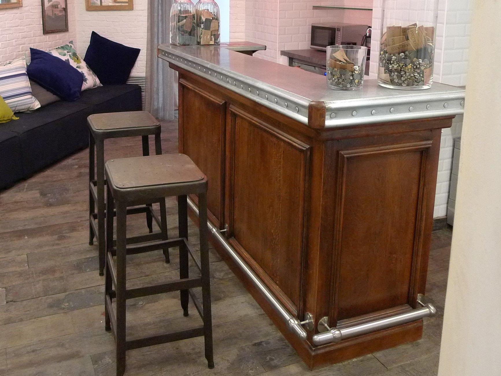 bar droit   Meuble bar comptoir, Meuble bar, Bar salon