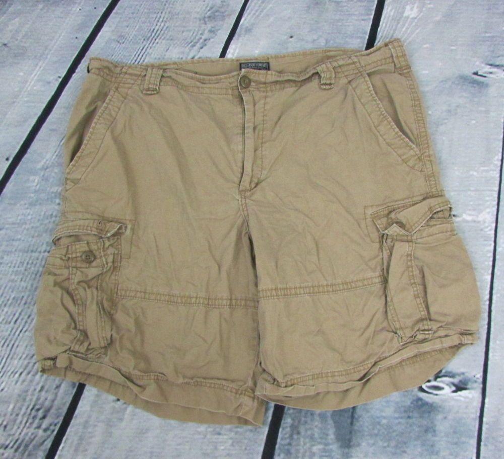 Men s Ralph Lauren Polo Jeans Company Cargo Shorts Tan Beige Size 42   RalphLauren  Cargo   Clothing   Pinterest   Ralph lauren, Polos and Tans 3f946b00ec