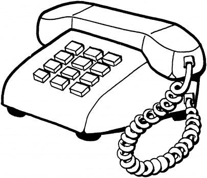 Home Telephone In 2021 Coloring Pages Color Phone Covers Diy