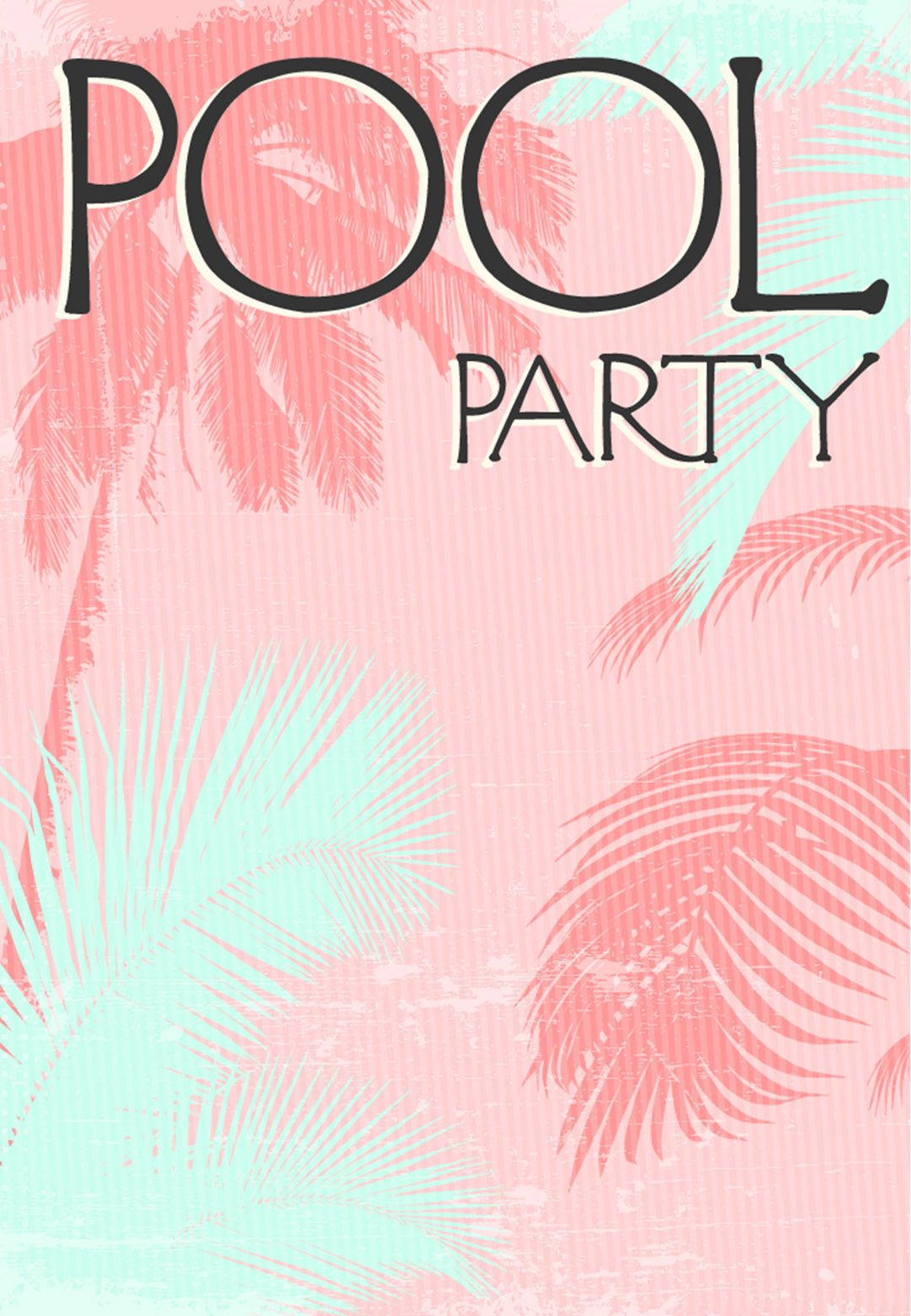 Summer Party Invitation Free Printable Fun In The Sun - Party invitation template: pool party invitations templates