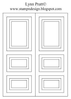 Rectangle Door Card