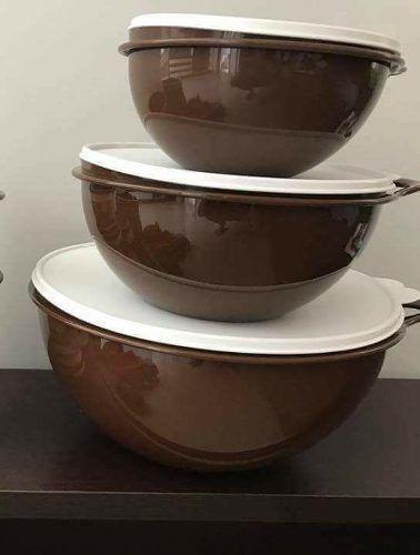 Conjunto Chocolate De Criativas 4 Peças Tupperware - R$ 220,00 em Mercado Livre