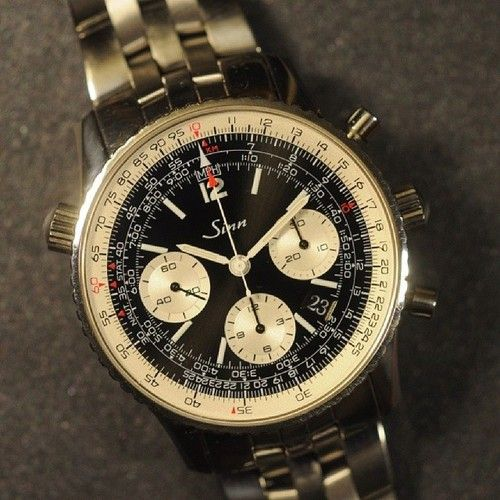 This gorgeous Sinn 903 St Pilot is headed out to it's new owner in Canada today