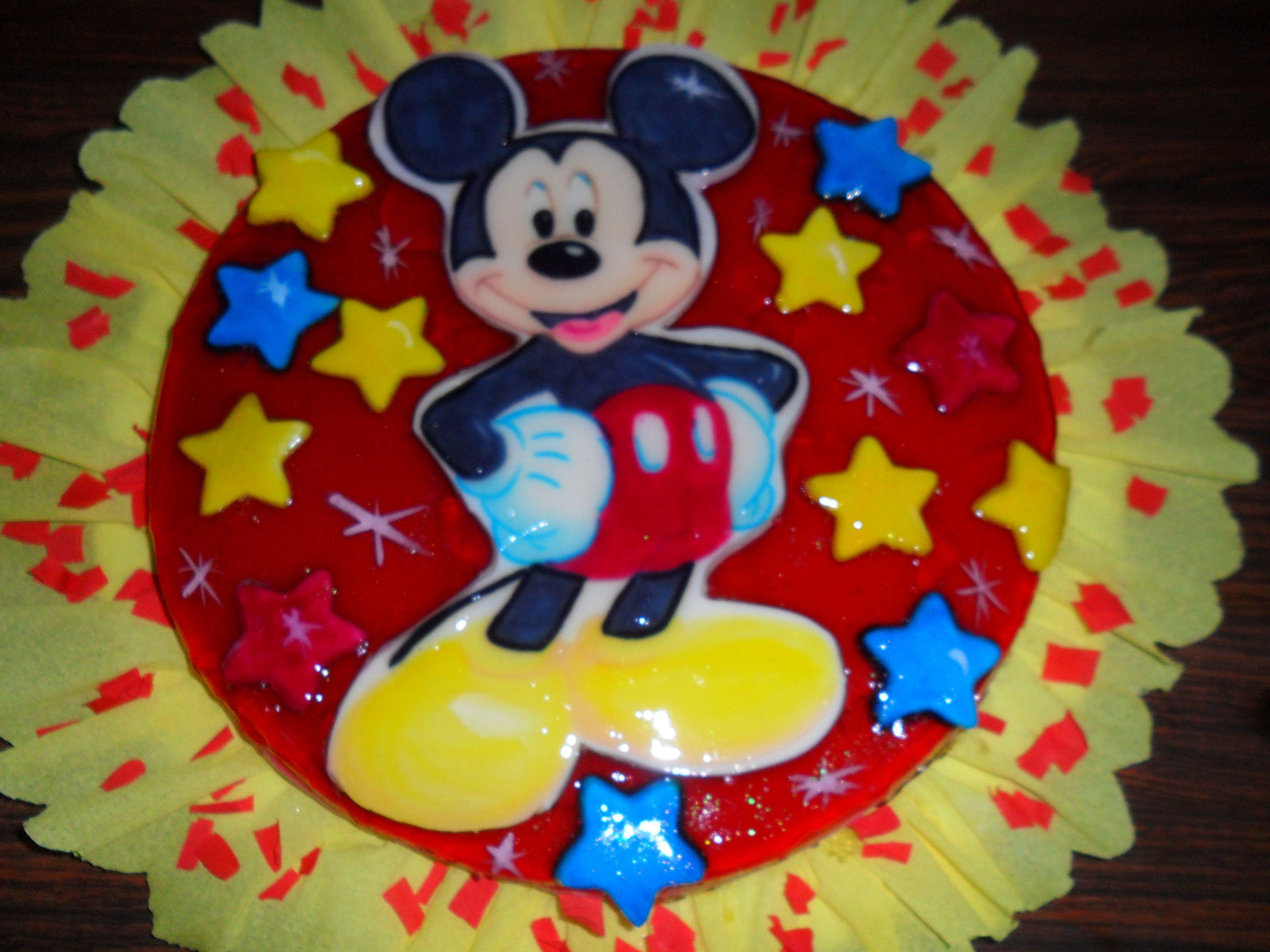 Gelatina De Mickey Mouse Tortas Gelatinas Y Algo Mas
