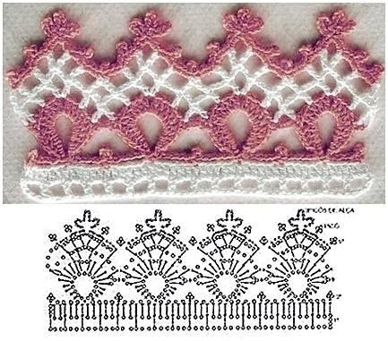 Bico De Crochet Com Imagens Modelos De Croche Trico E Croche