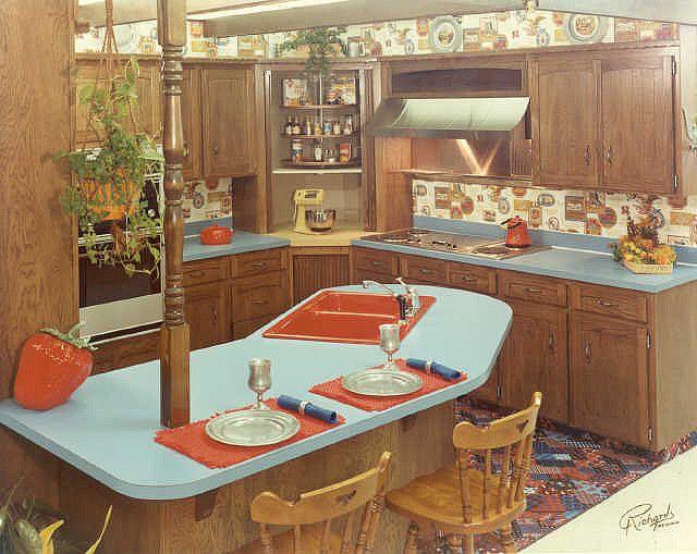 The 70\'s Kitchen | 70s kitchen, Kitchens and Retro