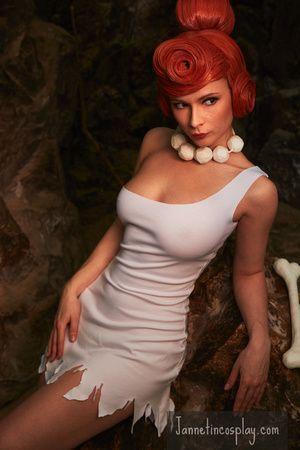 sexy Feuerstein Kostüm