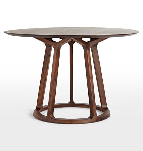 Morrison Round Dining Table In 2020 Round Dining Table Round