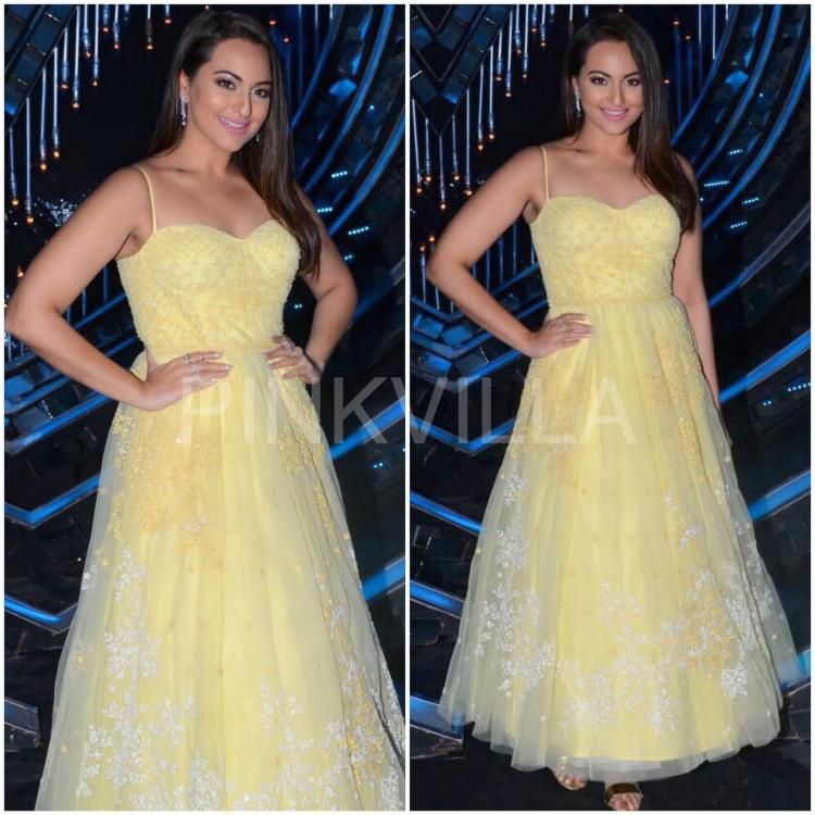 Yay or Nay : Sonakshi Sinha in Anita Dongre