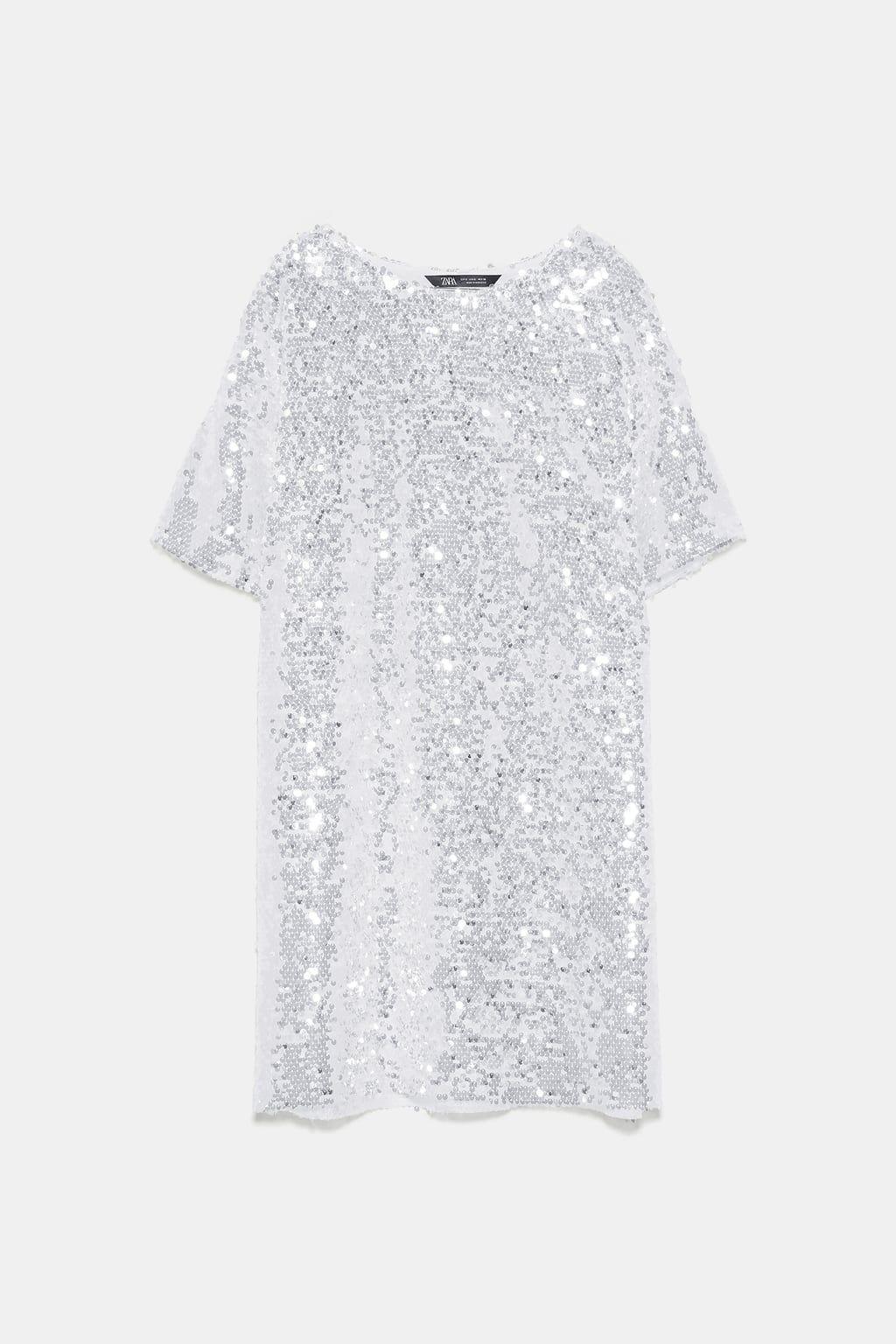 SEQUINNED DRESS - NEW IN-WOMAN  ZARA United Kingdom