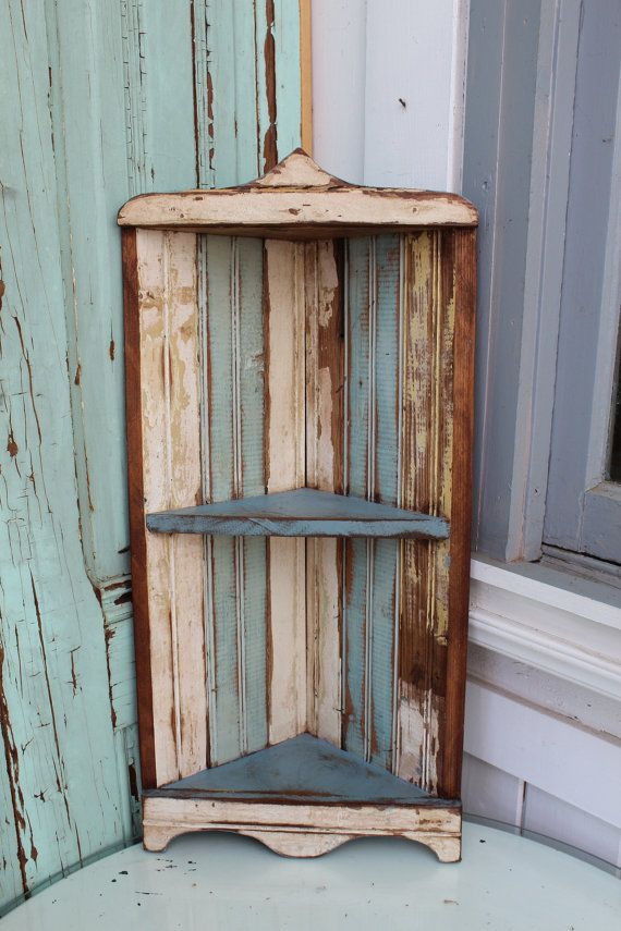 Cute Small Corner Shelf Home Decor Hanging By Honeystreasures