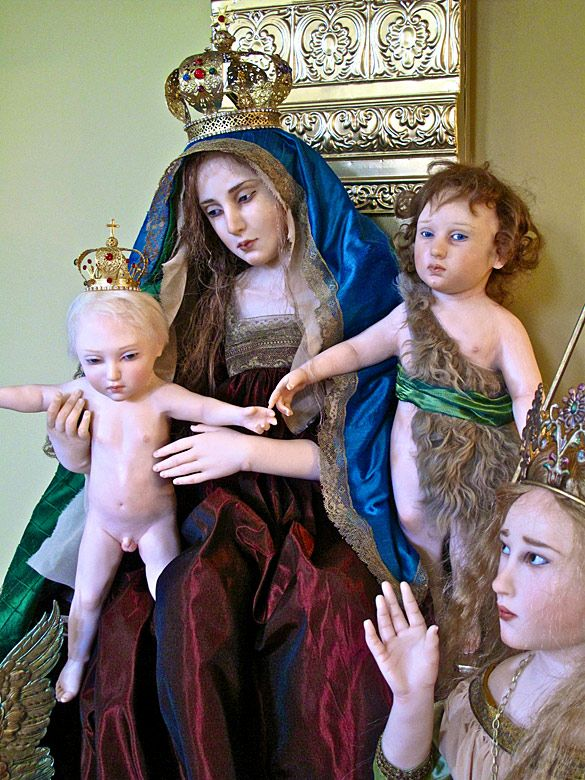 Madonna and Child with Infant Saint John, by Jamie Williamson
