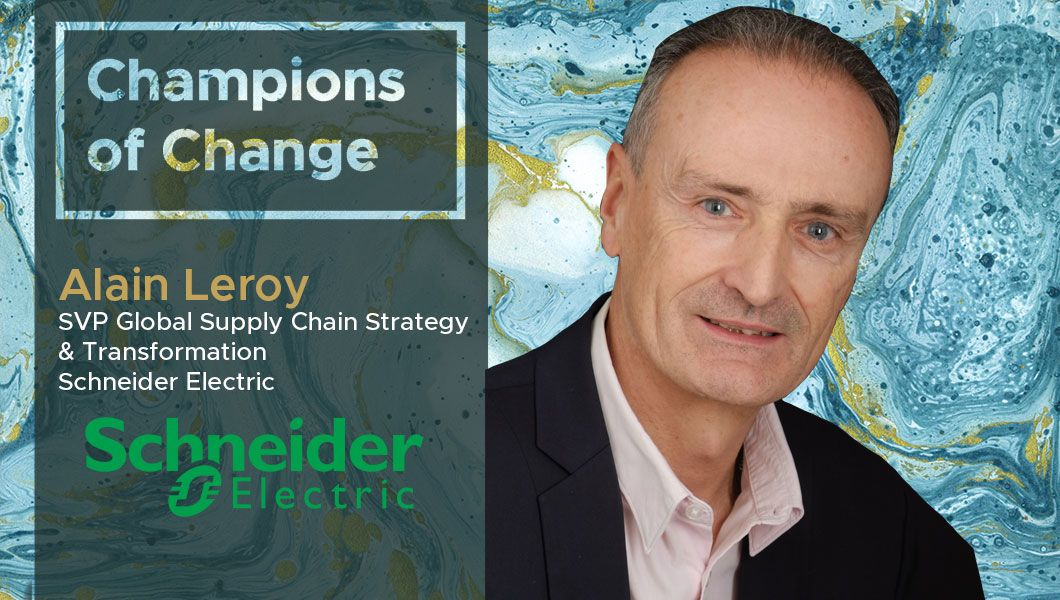 In this interview, Alain Leroy, SVP Global Supply Chain